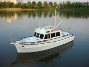 Premium Line - Kymodels Grand Banks 120 Scale Motor Yacht Ready Built - New