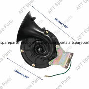 12v Loud 300db Electric Snail Air Horn Sound For Car Suv Truck Boat Motorcycle