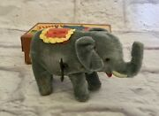 Vtg Occupied Japan Alps Jumbo The Elephant Wind-up Toy