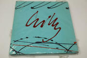 Dale Chihuly Signed Autograph W/ Paint On Cover - Amazing Glass Artist Very Rare