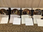 Norman Rockwell's Rediscovered Women Decorative Plates Partial Set Of 12 W/ Coa