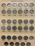 Magnificent Buffalo Nickel Collection 1913-38 26 Keys 60 Total Coins Of 64