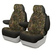 For Jeep Compass 17 Dash Designs Camo 1st Row Woods Custom Seat Covers