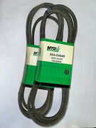 Lot Of 2 Genuine Mtd 954-04045 Riding Mower 42-inch Deck Belt New Old Stock