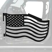 For Jeep Gladiator 20 Trail Door Kit Premium American Flag Style Texturized