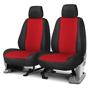 For Jeep Wrangler 11-12 Rixxu Neo Series 1st Row Black And Red Custom Seat Covers