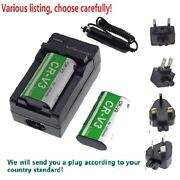 Battery Or Wall Charger For Olympus Lb-01 Cr-v3 Lb01e And Sp-310 Sp-350 Sp-500uz