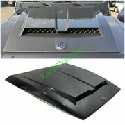 Mercedes W464 W463a G Wagon 500 63 Hood Scoop Carbon Fiber B Style With Badge