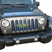 For Jeep Wrangler 18-20 1-pc Sea Series Tuna Style Perforated Main Grille
