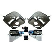 For Chevy Corvette 97-04 Breathless Racing Lemans Style Gray Euro Headlights