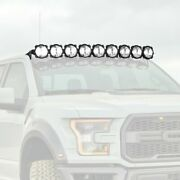 For Ford F-150 15-20 Roof Mounted Gravity Pro6 57 180w Combo Beam Led Light Bar