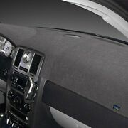 For Mercedes-benz Clk63 Amg 08 Dash Designs Sedona Suede Charcoal Dash Cover