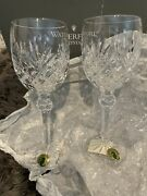 Set Of Two Waterford Crystal Tinsley Set Of Two 6 Oz Red Wine Glasses
