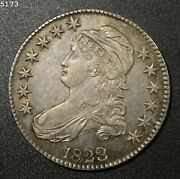 1823 Capped Bust Half Dollar Au++/unc Free Shipping After First Item