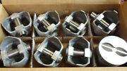 400 Pontiac Forged Pistons Early 1967 L2260f .030 Over