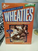 Sealed Wheaties Jackie Robinson Collectors Edition Cereal Box