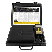 Cps Compute-a-charge 220 Lb High Capacity Refrigerant Charging Scale