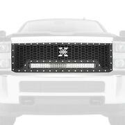 For Chevy Silverado 3500 Hd 15-19 Main Grille 1-pc Laser Torch Series Black