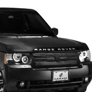For Land Rover Range Rover 10-12 Main Grille Lexani 1-pc Zurich Style Black Mesh