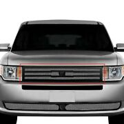 For Ford Flex 13-19 Main Grille Lexani 1-pc Zurich Style Chrome Mesh Main Grille