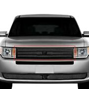 For Ford Flex 13-19 Main Grille Lexani 1-pc Zurich Style Black Mesh Main Grille