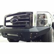 For Ford F-250 Super Duty 10-19 Bumper Syndicate Full Width Texture Satin Black