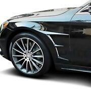 For Mercedes-benz Maybach S600 16-17 Front Vented Fender Trim Set Lt Style