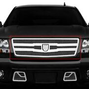 For Chevy Tahoe 07-13 Main Grille Lexani 1-pc Zurich Style Black Mesh Main