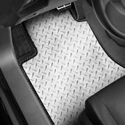 For Austin Mini Cooper 61-69 Intro-tech Diamond Plate 1st And 2nd Row Floor Mats