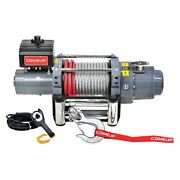 Comeup 851824 18000 Lbs Dv Electric Winch W Wire Rope And Discrete Solenoid