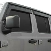 For Chevy Silverado 1500 19-20 Window Visors Tape-on Formfit Textured Black
