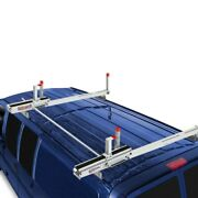 Weather Guard 2261-3-01 Ezglide2 Compact Fixed Drop-down Ladder Rack