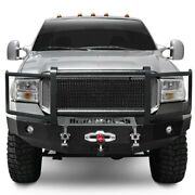 For Ford F-250 Super Duty 05-07 Bumper Heavy Duty Series Full Width Textured