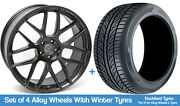 Ac Winter Alloy Wheels And Snow Tyres 20 For Ford Explorer [mk6] 20-20
