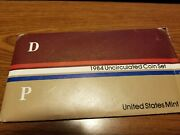 1984 United States Us Mint Uncirculated Coin Set With D And P Mint Marks
