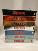 The Sopranos The Complete Series Seasons 1-6 Part 1 And 2 Dvds