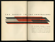 1940 Alvin Lustig Ghost In The Underblows Alfred Fisher Letterpress Limited Ed.