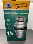 Motor Only. For Parts. Read. American Standard Food Waste Disposer Asd-1250