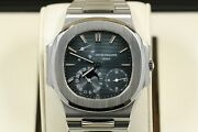 Patek Philippe Nautilus Model 3712/1a-001 Blue Dial Rare Watch 600 Made In 2006