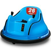 Kids Astm-certified Electric 6v Ride Bumper Car W/ Remote Control 360 Spin New