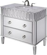 Nouveau Vanity Cabinet Sink Tapered Legs Oval Leg Single White Hand