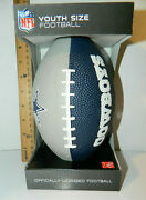 Dallas Cowboys Football Youth Size Kids Rubber Ball 9 Inch Tailgate Party W Box