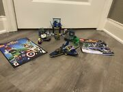Lego Super Heroes Hulk's Helicarrier Breakout 6868 Comic Book Included