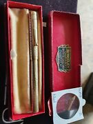 Vintage Solid Gold 14k Fully Covered Swan Fountain Pen