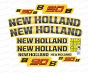 New Holland B90b Backhoe Decals / Stickers Compatible Complete Set / Kit