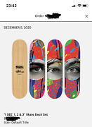 Paul Insect Skate Deck -set Of 3 - Edition Of 101 Sold Out