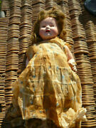Vintage Patsy Effanbee Lovums Large 20 Doll - Pat 1283558 1930's Very Early