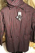Mens Vintage Gentlemen Milliken Wool 20and039s Blazer Jacket And Cap New With Tags