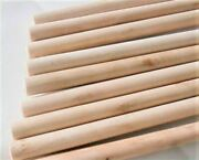 Wooden Broom Handles 1.2 Meter X 22mm Thick Brush Flower Support Flag Pole