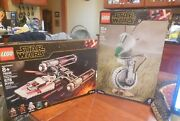 2-lego Star Wars 75278 D-o And 75249 Resistance Y-wing Starfighter New In Box